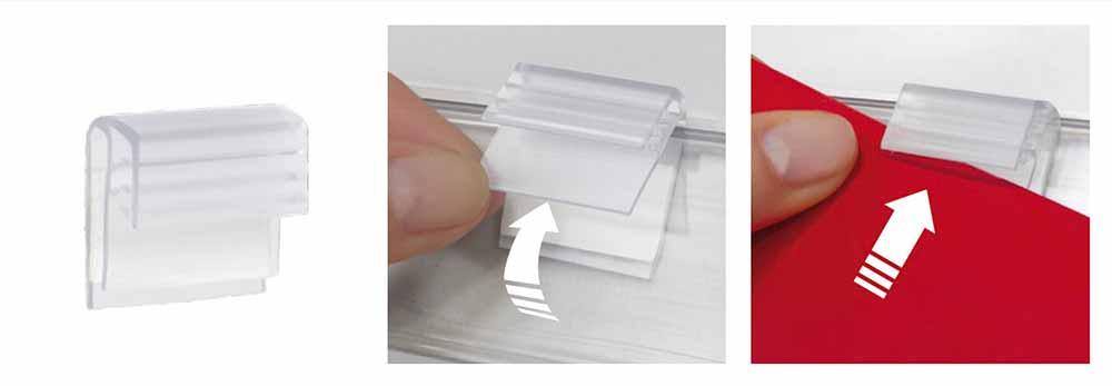 Grip bisagra adhesivo detalles