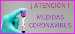 ¡Medidas coronavirus!