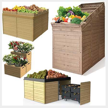 Mobiliario de fruteria