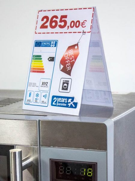Porta Gráfica en PVC (50 unidades)