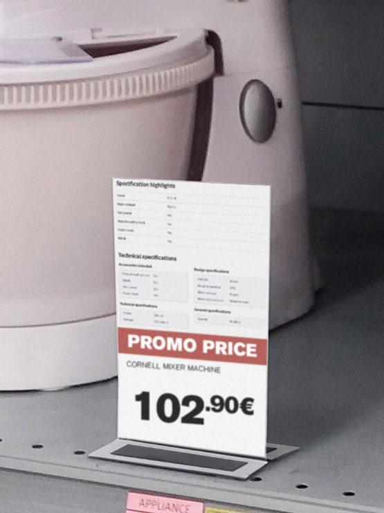 Porta Gráficas PVC Doble Cara con Imán 2019