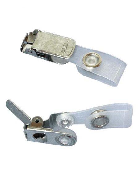 Abrazadera con clip metálico (50 unidades)