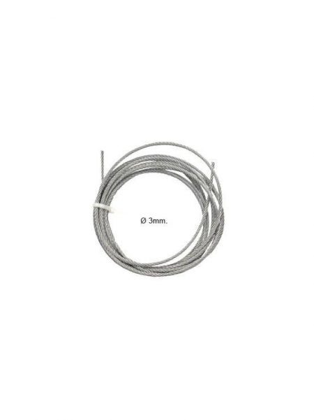 Cable Acero 3mm (25 metros)