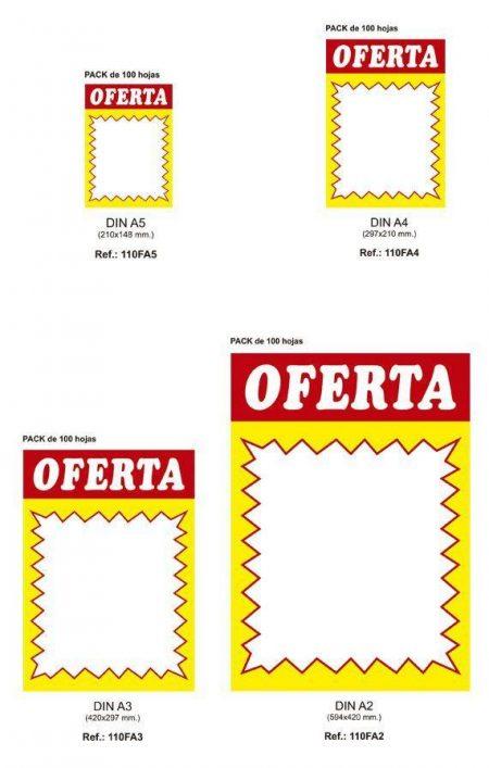 Cartel Oferta (100 unidades)