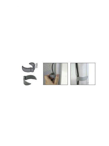 Clip Sujeta Cables (10 unidades)