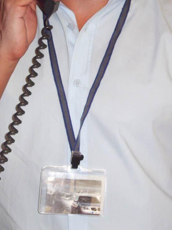 Cordón con clip de plástico 2018