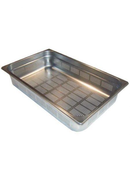 Cubetas Gastronorm Inox Perforadas