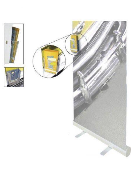 Dispensador de Folletos Magnético para Roll Up (5 unidades)