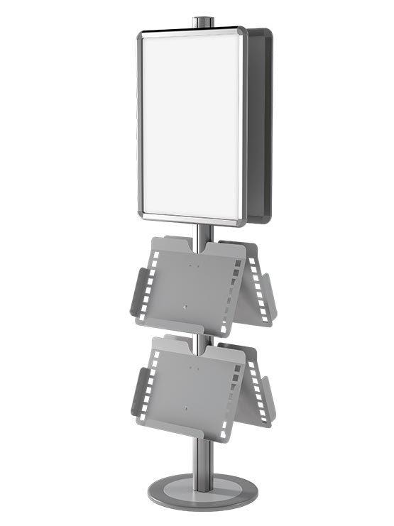 display con portafolletos 10486