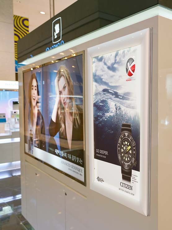 Marco Aluminio LED para publicidad modelo Artega 2019