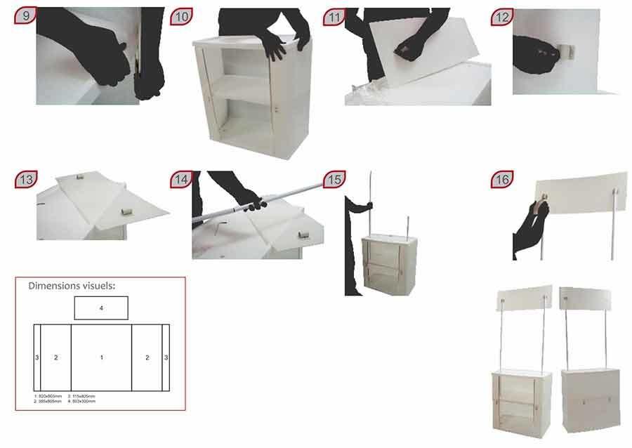 promoción de productos montaje 2