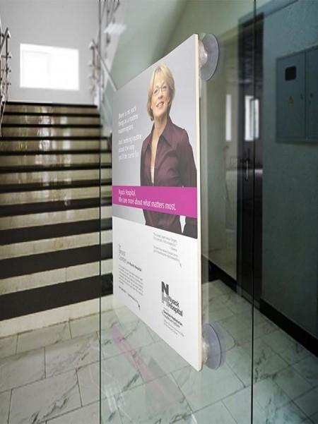 Ventosas adhesivas para banner publicitario (4 unidades)