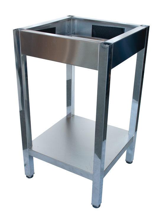 Base Inox 850 mm de Altura para Tajo de Corte para profesionales