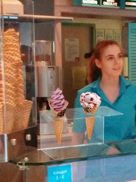 Expositor de metacrilato para helados (5 unidades)