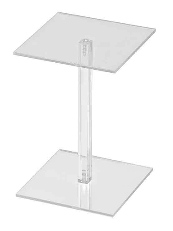 Expositor metacrilato pedestal