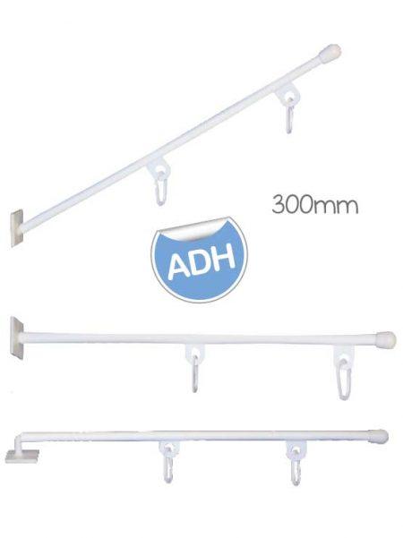 Soporte Adhesivo con Anillas (50 unidades)