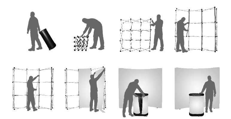 photocall montaje