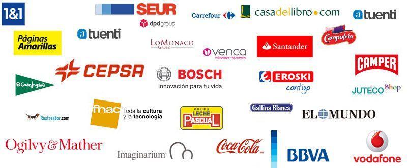 Otras empresas con el sello de Confianza Online