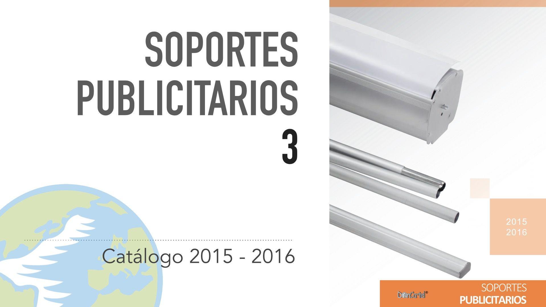 SoportSoportes Publicitarios 3 nuevo video catálogo