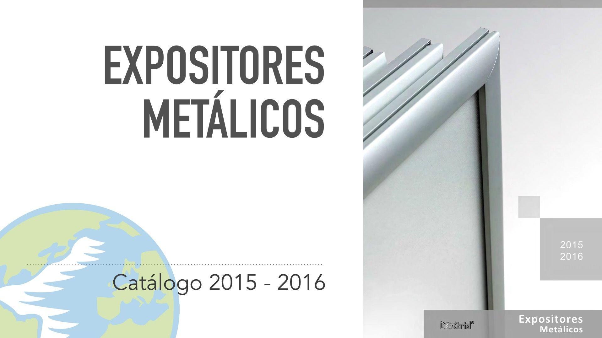 Catálogo Expositores Metálicos nuevo video catálogo