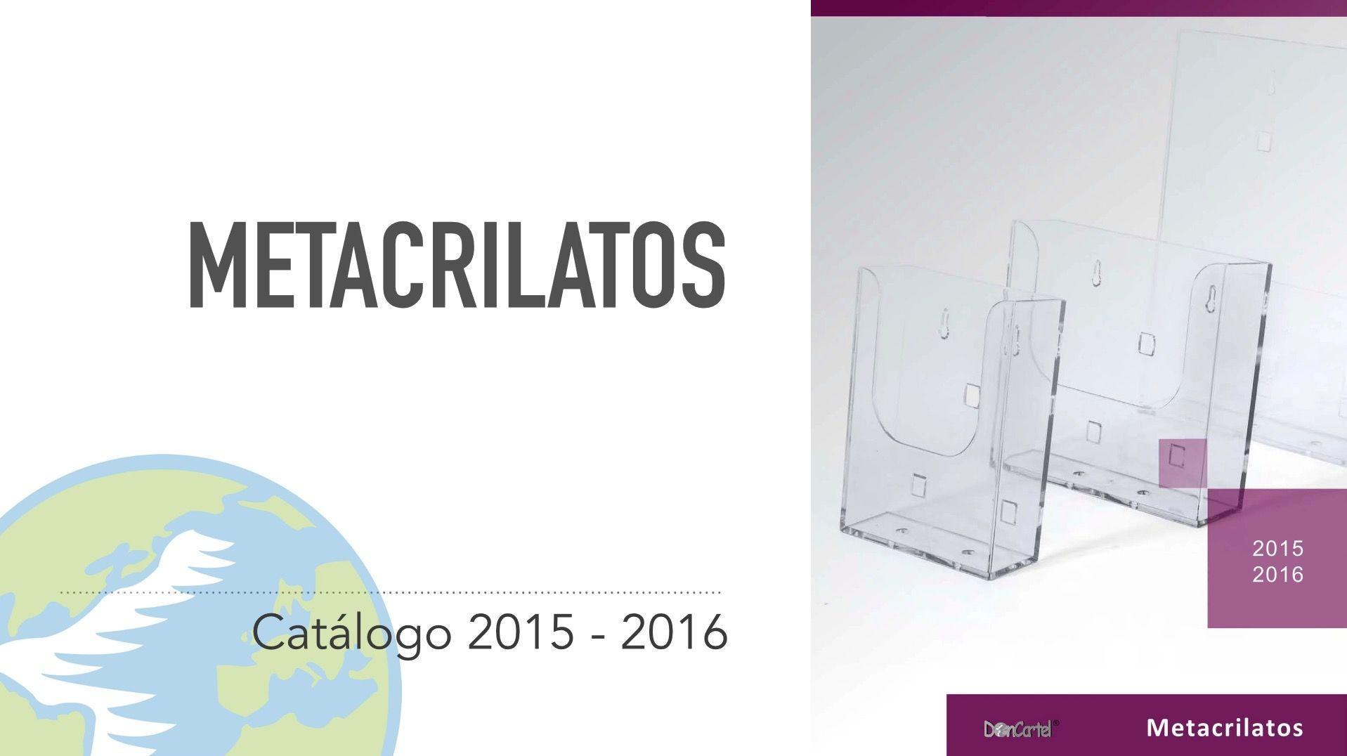 Catálogo Metacrilatos nuevo video