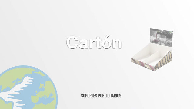 Publicidad en Cartón