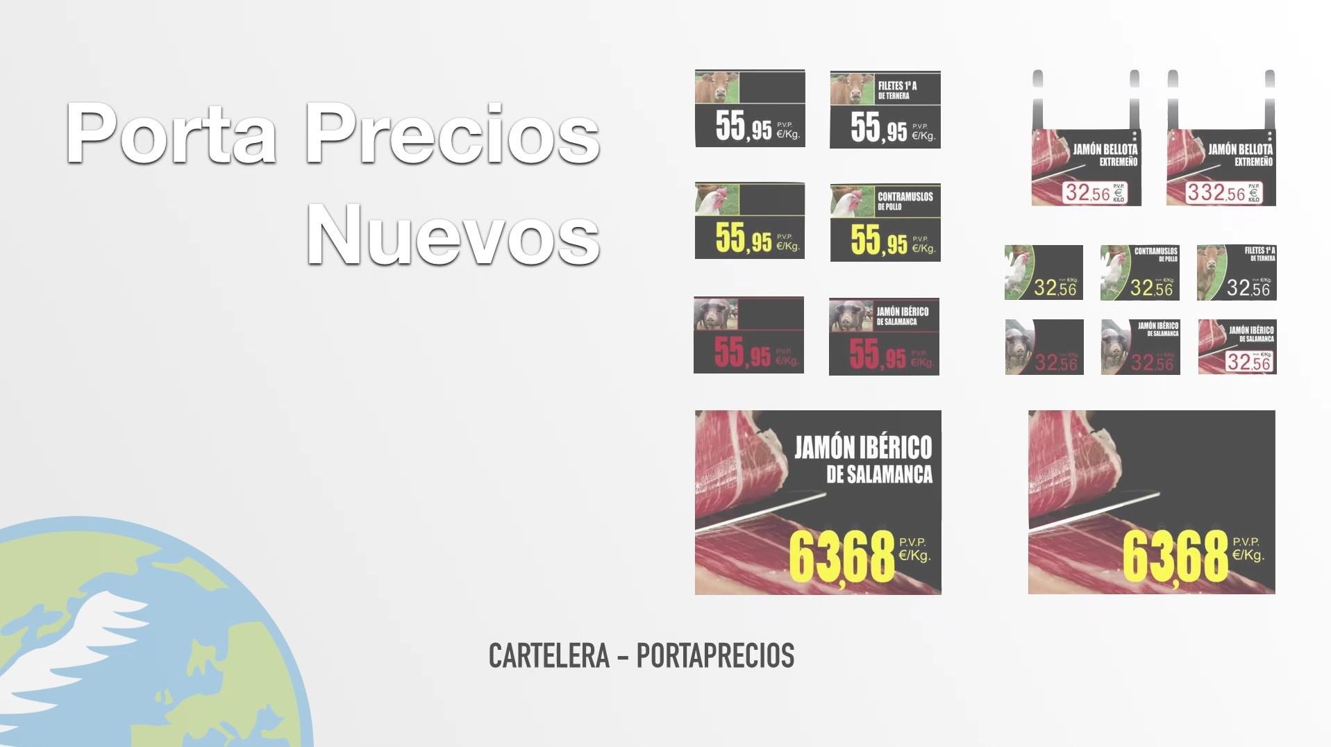 cartel precio