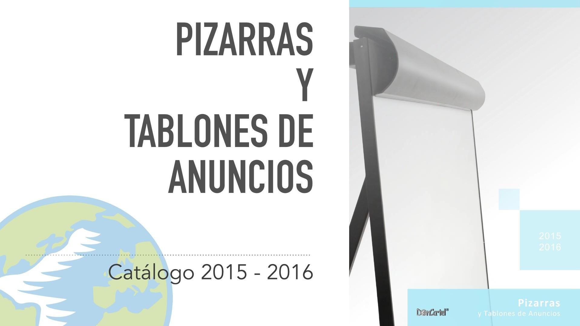 Catálogo Pizarras y Tablones de Anuncios nuevo video catálogo