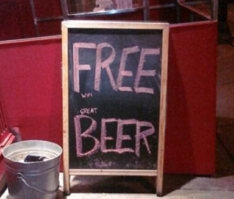 pizarras para bares