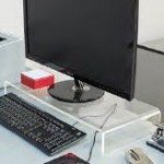 expositor metacrilato soporte monitor