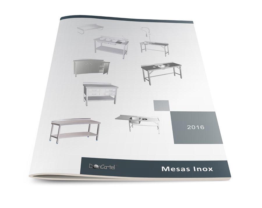 Catálogo Mesas Inox 2016 imagen portada