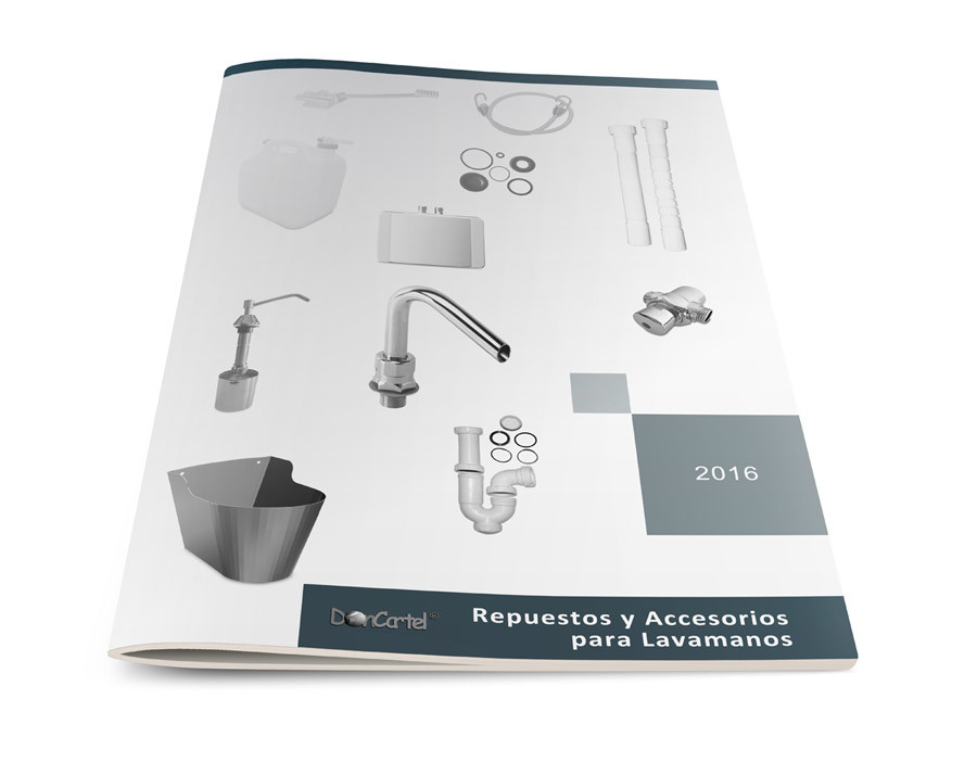 Catálogo Accesorios y Repuestos para Lavamanos imagen portada