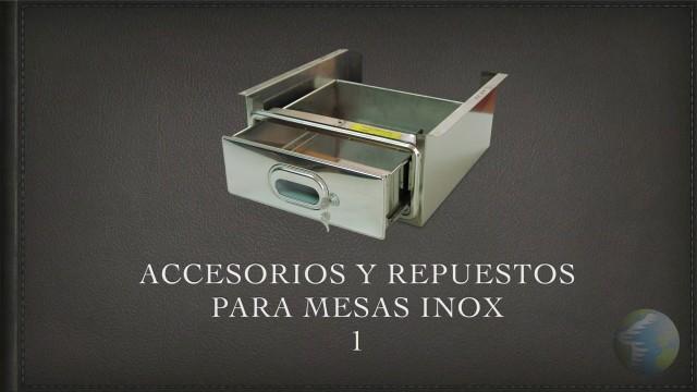 Accesorios Mesas Inox 1