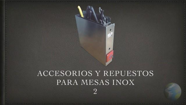 Accesorios Mesas Inox 2
