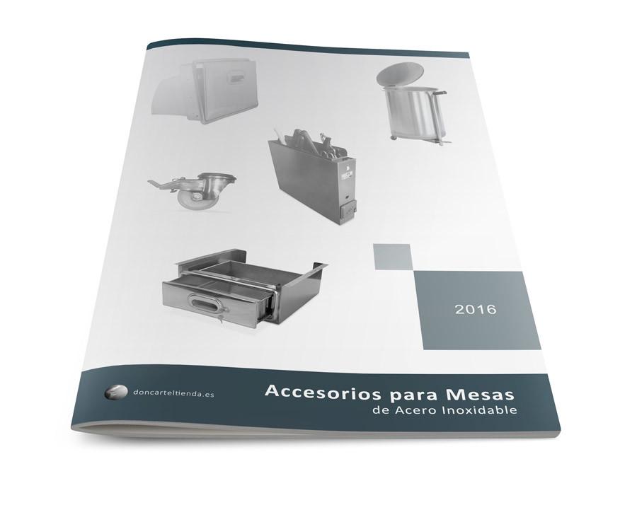 Catálogo Accesorios Mesas Inox