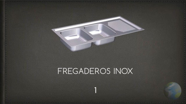 Fregaderos Inox 1