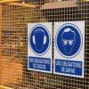 señales de seguridad ejemplo colocación