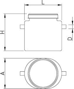 Separador de grasas portátil imagen 2