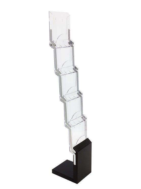 Porta Folletos Portátil plegable modelo colmenar