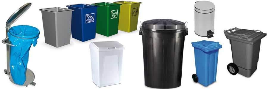 Cubos de Basura Contenedores de Reciclaje y Papeleras