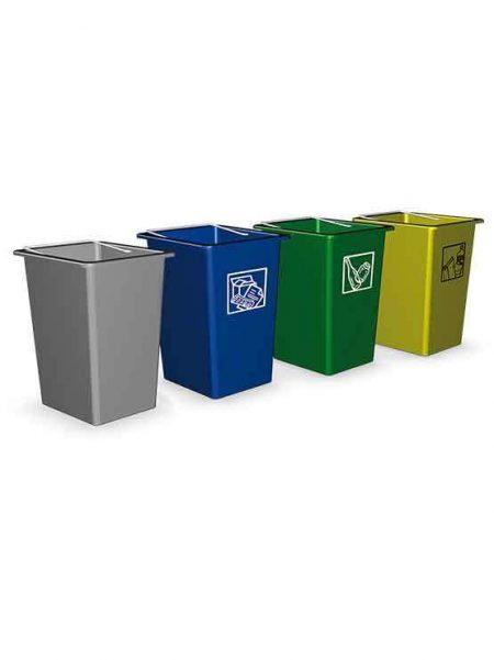 Mini Contenedor de Reciclaje