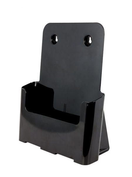 Dispensador de Folletos Negro para Colgar (caja de 2 y 4 unidades)