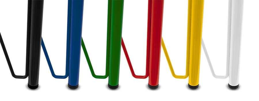 pizarras bar colores estructura de acero