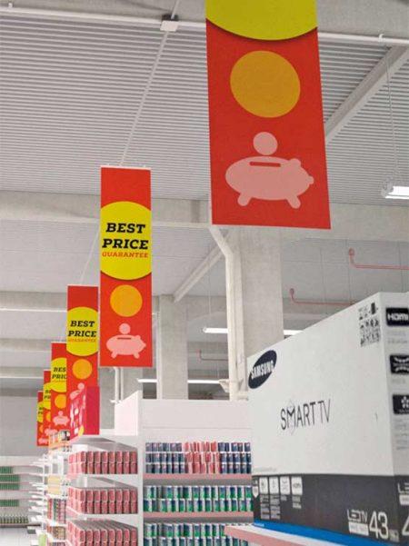 Porta Cartel FastClip (4 unidades)