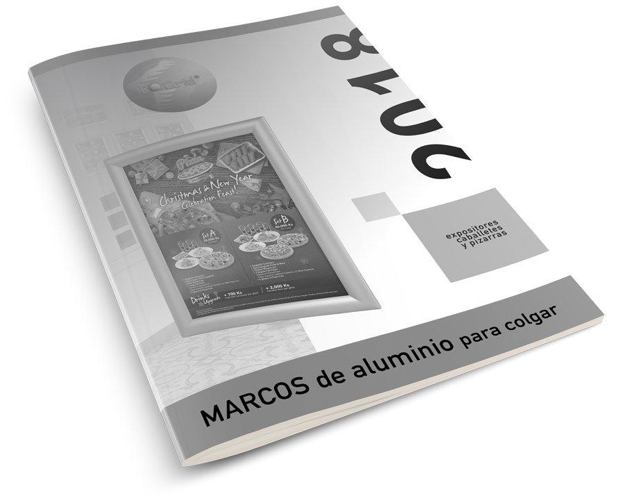 catálogo marcos de aluminio para colgar 2018