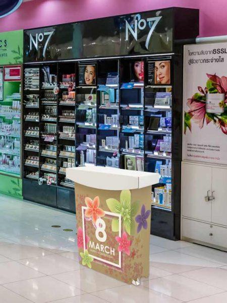 Mostrador de cartón modelo Miami (2 unidades)