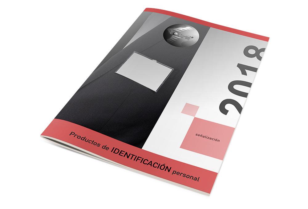 Identificación personal catálogo 2018