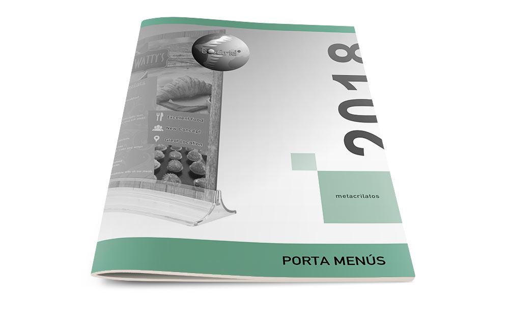 Porta Menú Catalogo 2018