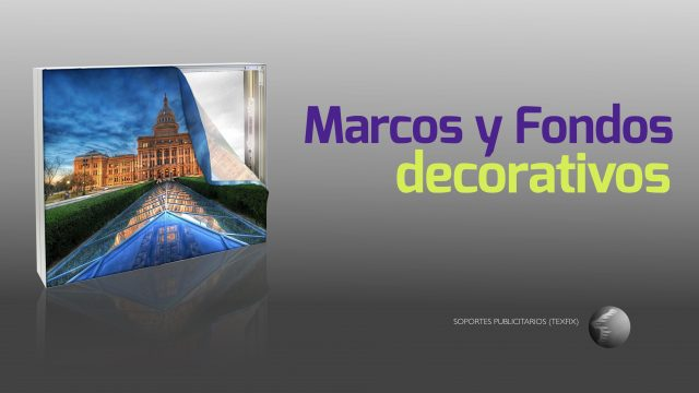 Marcos y fondos decorativos