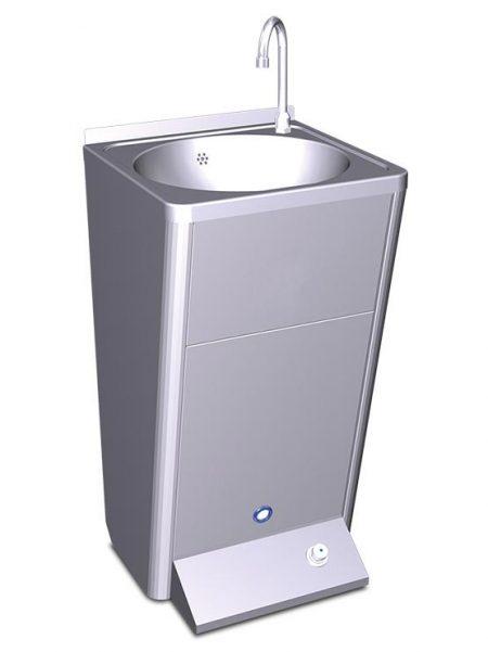 Lavamanos registrable autónomo eléctrico un pulsador agua fría